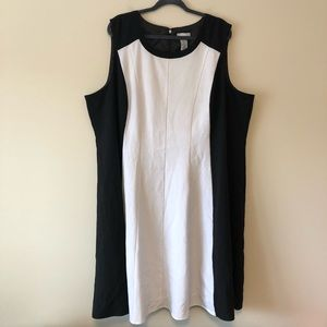 Catherine's Black & White Dress